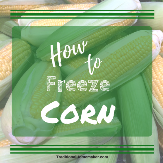 Corn is a delicious vegetable that adds a pop of color to any meal. Follow along to learn how to freeze corn for your own family.