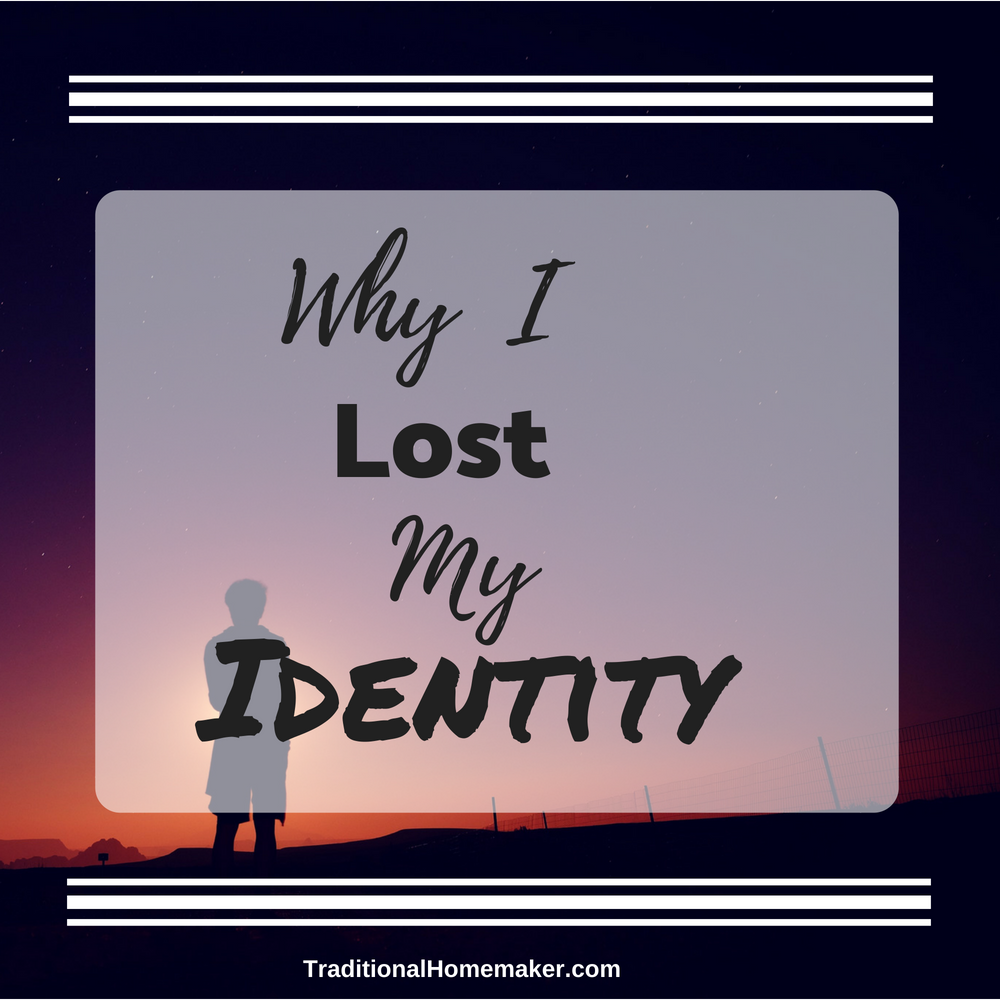 """Don't lose your identity"" implies that you should only find your identity where society deems acceptable. Let me share why I lost my identity, willingly."