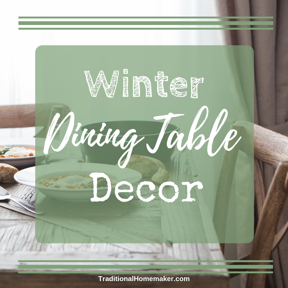 Winter is upon us but that doesn't mean you have to shun it. Embrace it! There are so many affordable ways to create your own winter dining table decor!