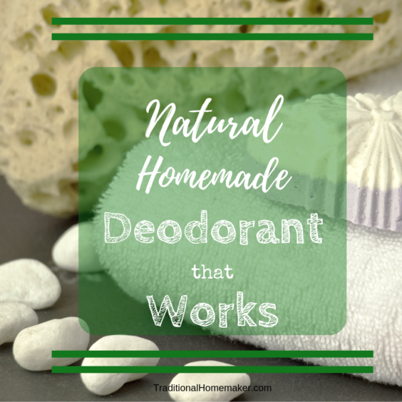 My hunt for a deodorant that actually worked came to an end four years ago when I came across a recipe for natural, homemade deodorant that actually works.
