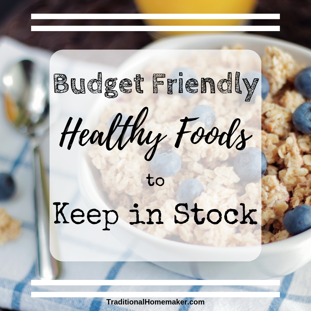 Eating healthfully on a budget is not impossible. Challenging but not impossible. Consider these budget friendly healthy foods when you are meal planning.