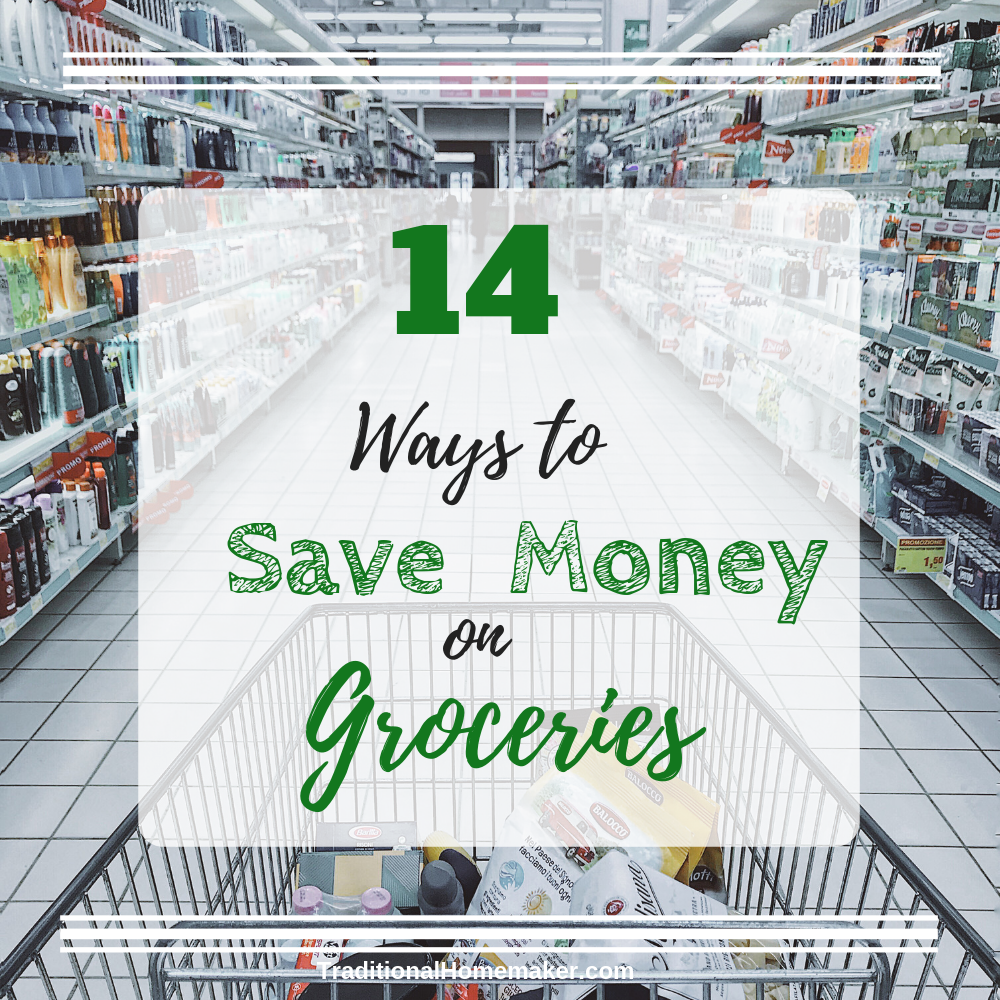 Saving money on groceries doesn't just happen. You have to be diligent and creative. Learn the 14 ways that I save money on groceries.