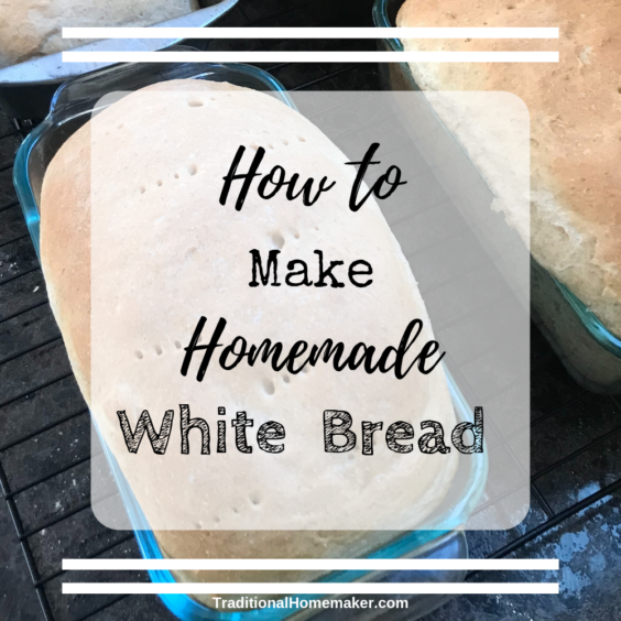 Want to make your own bread? Try this drool-worthy homemade white bread recipe.