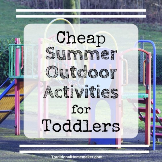 A fun summer for kids doesn't have to mean running ragged to every event. Keep your summer simple with these cheap summer outdoor activities for toddlers.
