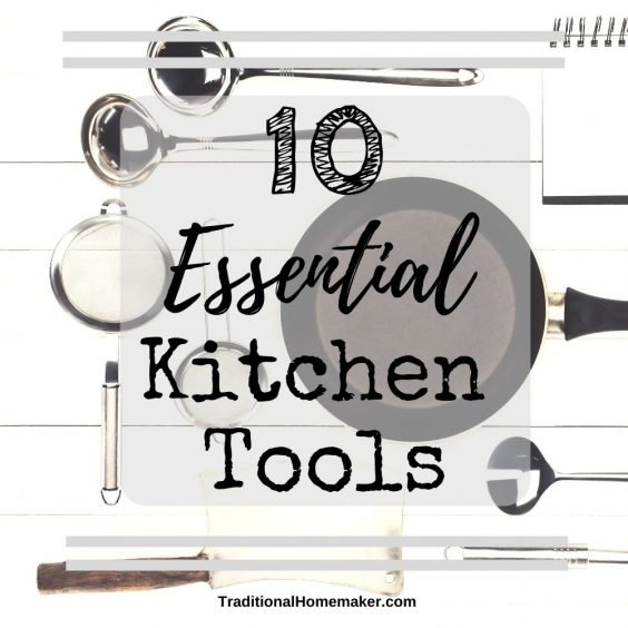 Your essential kitchen tools for homemaking aren't as complicated or as expensive as you might imagine. Find out how to equip your kitchen for the long run!