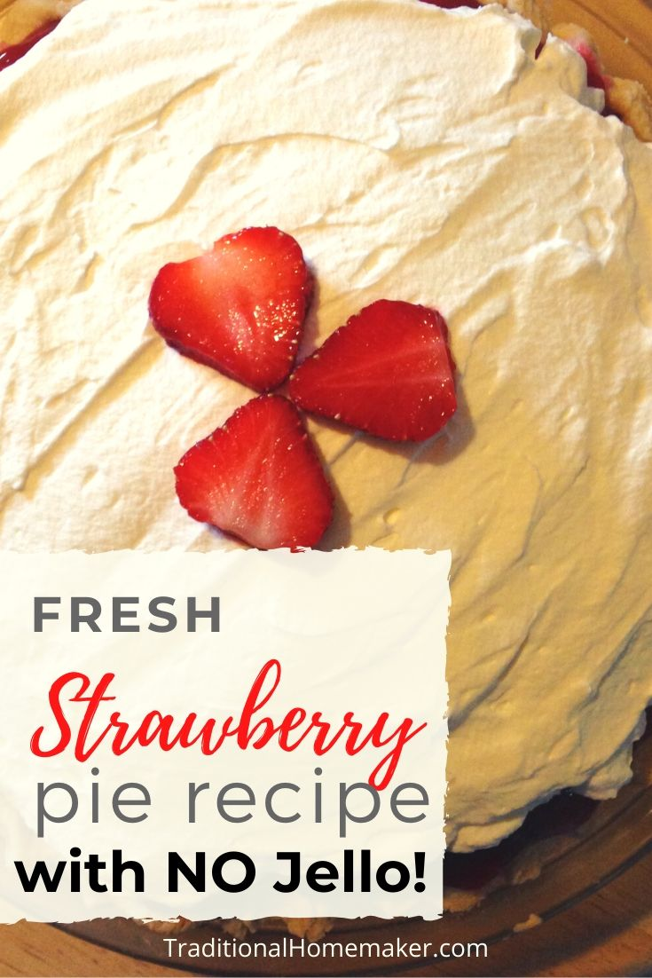 Use this fresh strawberry pie recipe to make a treat for your family! Don't worry! There's no artificial colorings or flavorings in it.