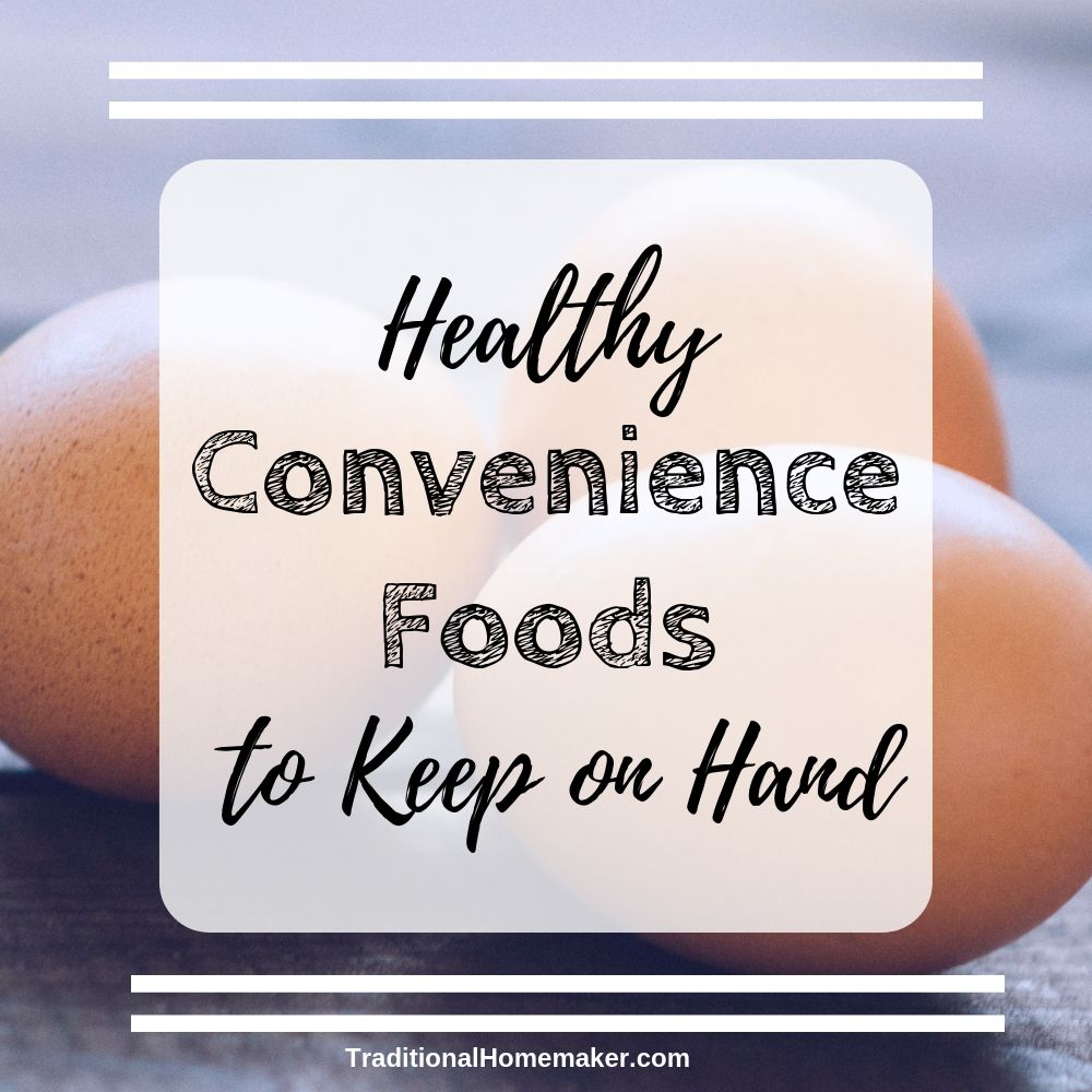 Healthy convenience foods are important to have on hand if you intend to make a dietary change. Set yourself up for success by planning and making it easy.