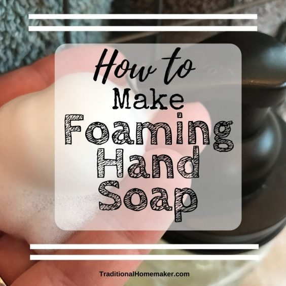 Learn how to make foaming hand soap! With a few simple ingredients you can make a natural, safe DIY foaming hand soap for your sinks and the shower.