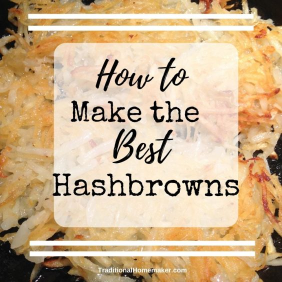 Hash browns are one of those things you only order at a restaurant because they know just how to make them. Now you can make the best hash browns ever!Hash browns are one of those things you only order at a restaurant because they know just how to make them. Now you can make the best hash browns ever!