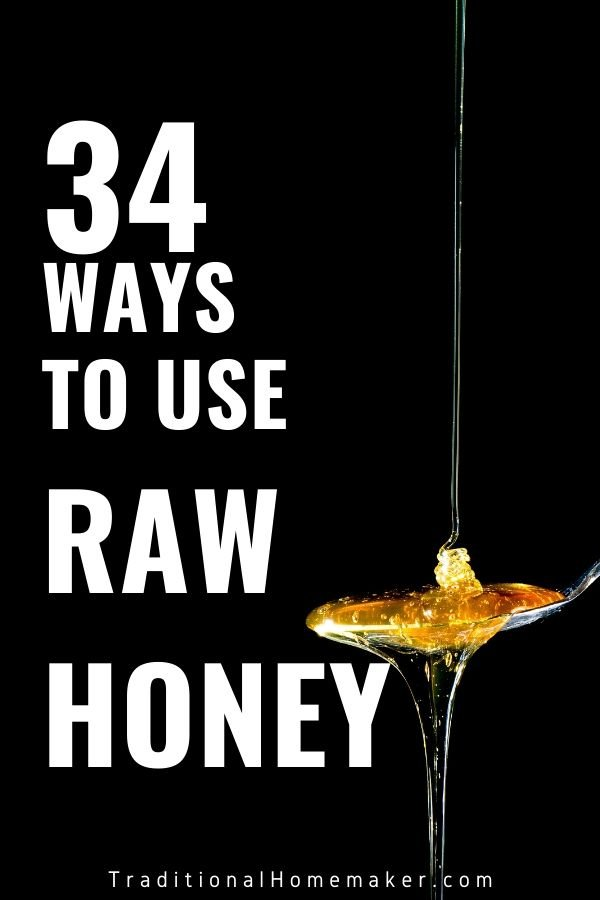 Honey is a wonderful food to keep in the house. Discover how to use raw honey in your kitchen and around the house!