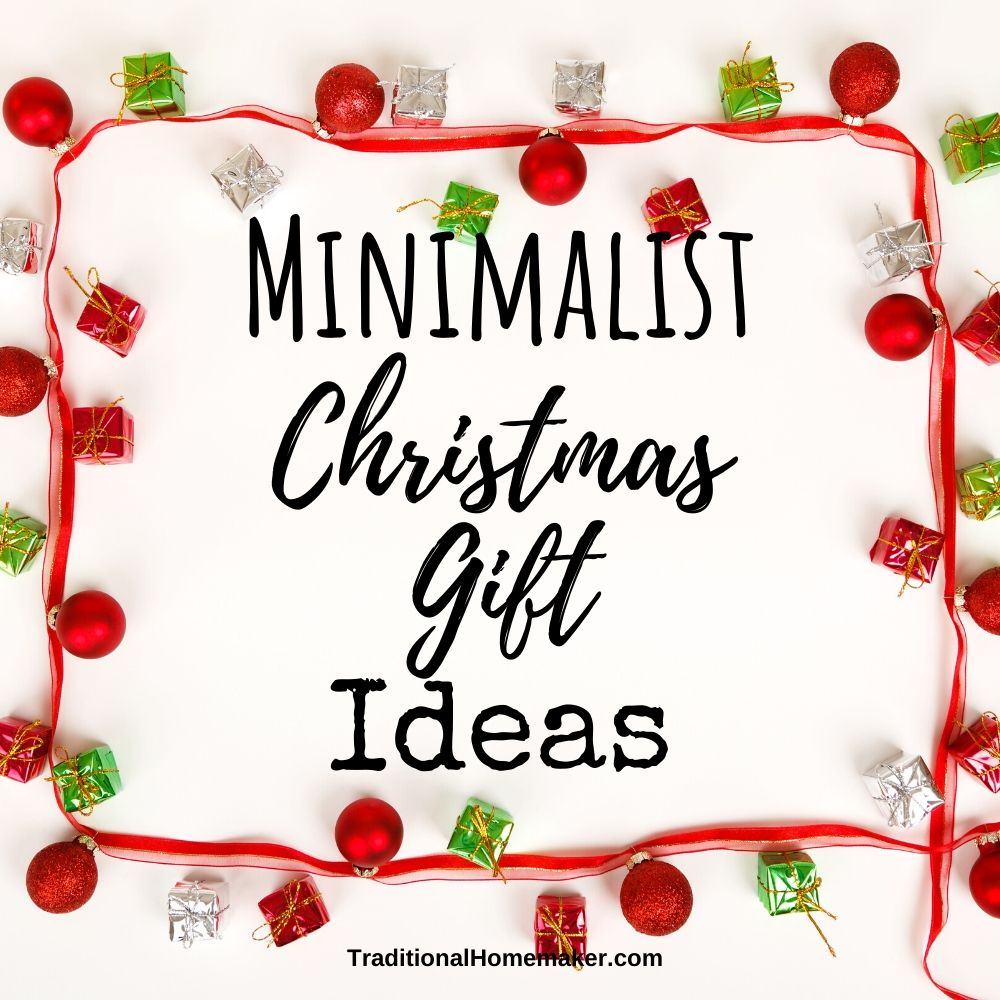 Christmas got you down? I put together this list of minimalist Christmas gift ideas to help me - and you - ditch the frustration of clutter this year.