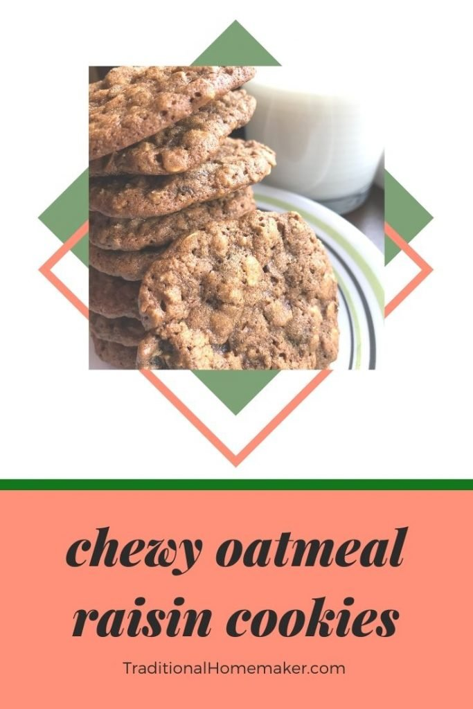 Next time you want a treat that offers some nourishment, make these chewy oatmeal raisin molasses cookies (with raisins or chocolate chips!).