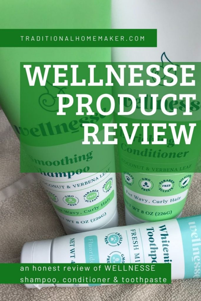 Wellnesse Product Review of Shampoo, Conditioner & Toothpaste